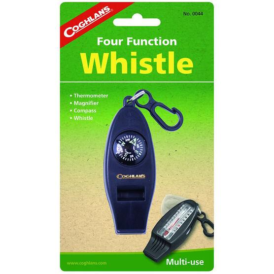 Coghlan's Four Function Whistle - Black