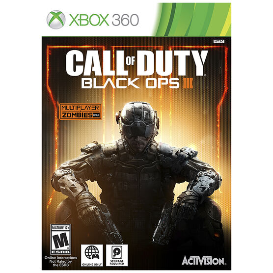 Xbox 360 Call of Duty: Black Ops 3 - English Only