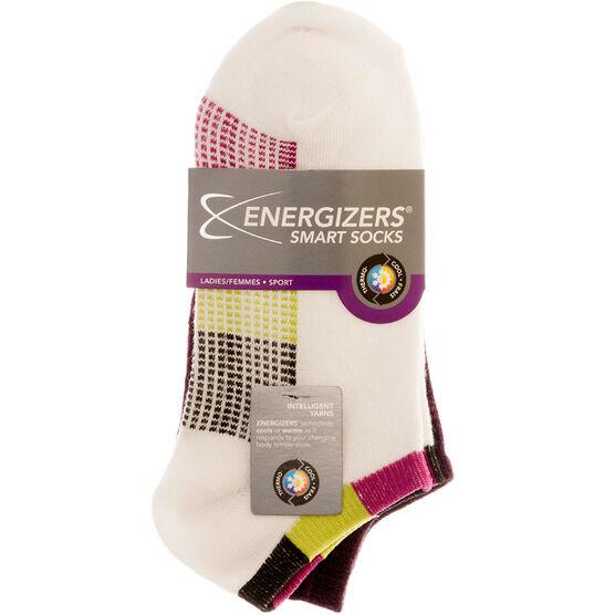 Energizers Ladies Fashion Sport Socks - Purple - Sizes 9-11