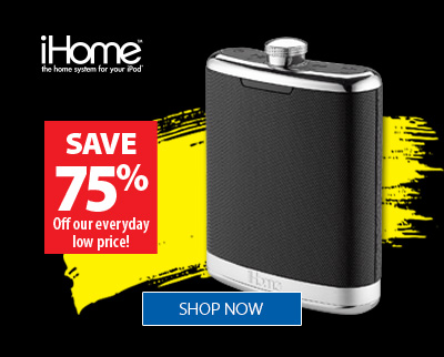 iHome Large Sound Flask