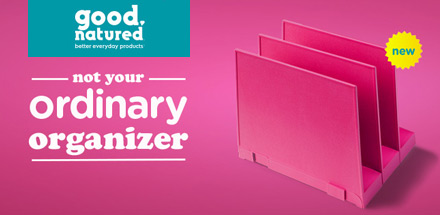 Good Natured - not your ordinary organizer.