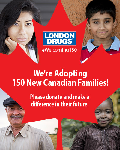 We're Adopting 150 New Canadian Families!
