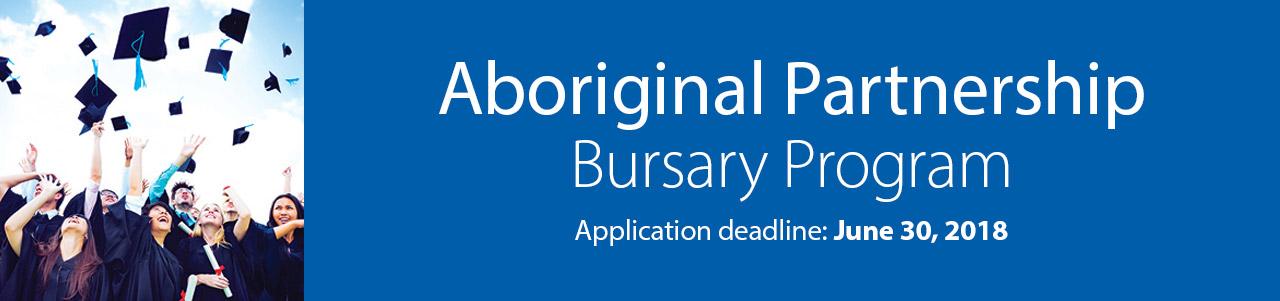 Aboriginal Partnership Bursary Program