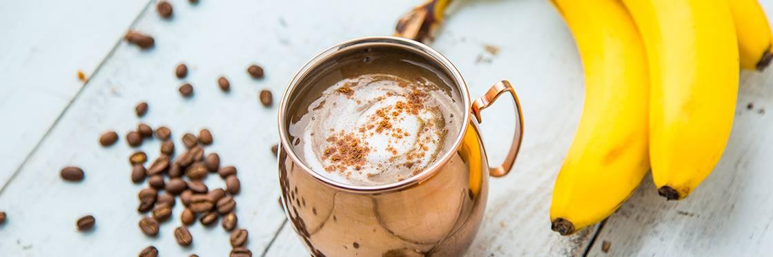 Banana Latte Coffee Smoothie