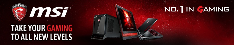 MSI - Take your gaming to all new levels.