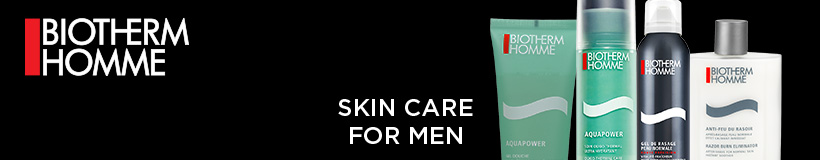 Biotherm Homme - Skin care for men.
