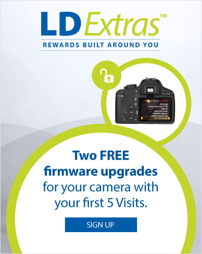 LDExtras. Two FREE firmware upgrades for your camera with your first 5 visits.