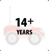 14+ Years