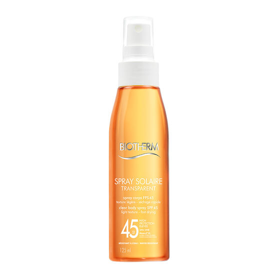 Biotherm Spray Solaire Clear Body Spray - SPF 45 - 125ml