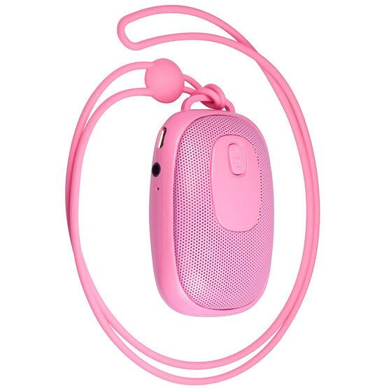 Logiix Blue Piston Nomad Bluetooth Speaker - Pink - LGX11979