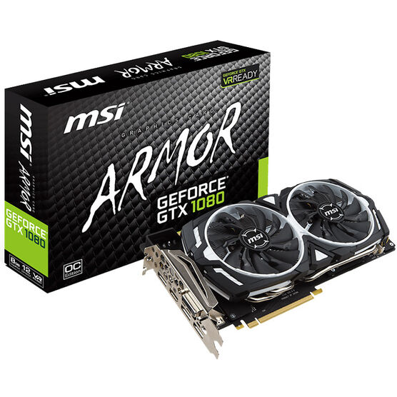 MSI GeForce GTX 1080 ARMOR 8G OC Gaming Video Card