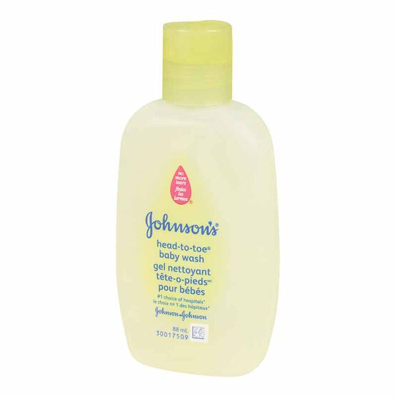 Johnson and Johnson Head-to-Toe Baby Wash - 88ml