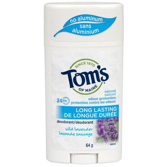 Tom's of Maine Deodorant - Wild Lavender - 64g