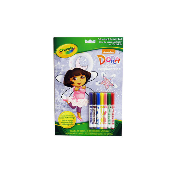 Crayola Dora The Explorer Colouring & Activity Pad