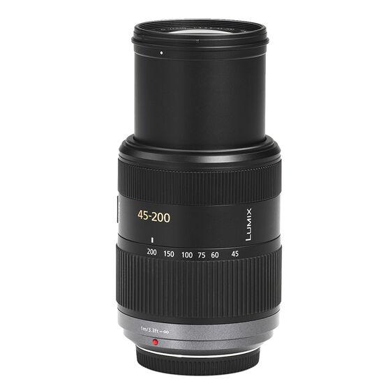 Panasonic 45-200mm f/4.0-5.6 Lumix G Vario Telephoto Zoom Lens - HFS045200- Open Box Display Model