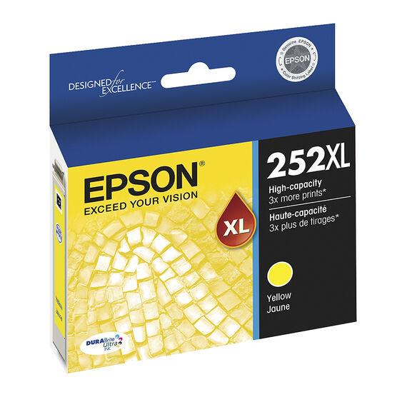 Epson T252XL Ink Cartridge - Yellow - T252XL420-S