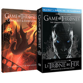 Game of Thrones: Season 7  Limited Edition (with Conquest & Rebellion) - Blu-ray