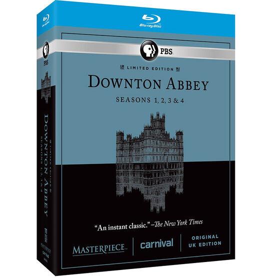 Downton Abbey: Seasons 1-4 - Blu-ray