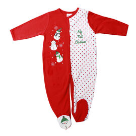 Baby Mode My First Christmas Coverall - 0-9 months - Assorted