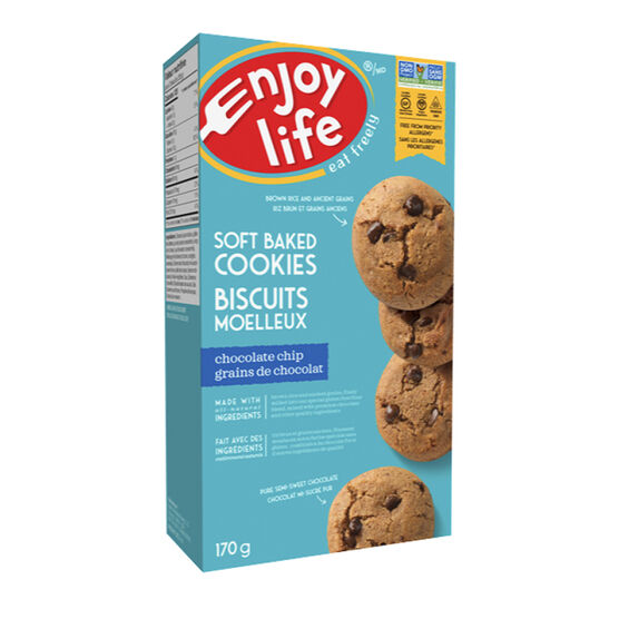 Enjoy Life Gluten Free Soft Baked Cookies - Chocolate Chip - 170g