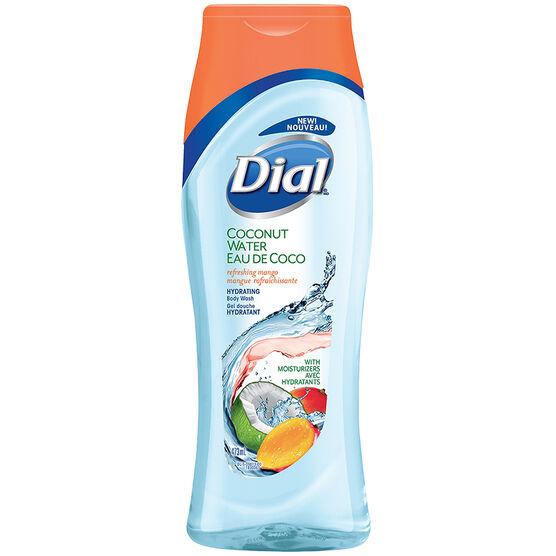 Dial Coconut Water Body Wash - Refreshing Mango - 473ml