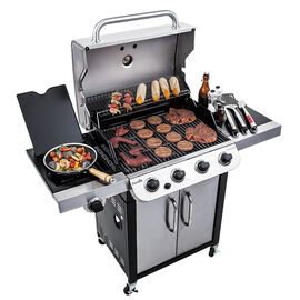 Char-Broil Stainless Steel BBQ - 36,000 BTU