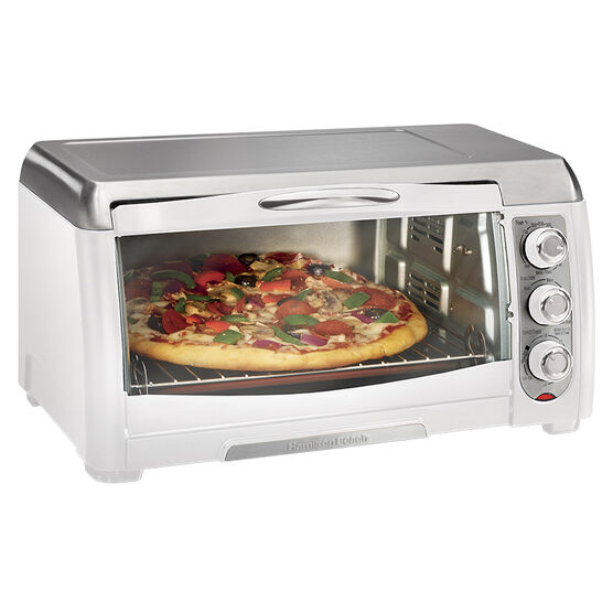 Hamilton Beach Reach Convection Oven - White/Stainless Steel - 31343C