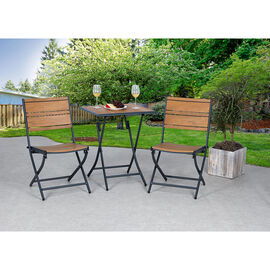 Aluminum Polywood Patio Bistro Set - 3 piece