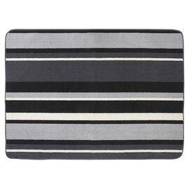 Multy Karlin Stripe - Charcoal - 2 x 5ft.