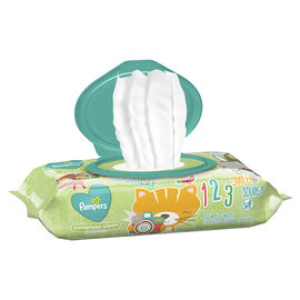 Pampers Wipes Complete Clean - Unscented - Soft Pack 72's