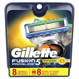Gillette Fusion5 Proglide Cartridges - 8's