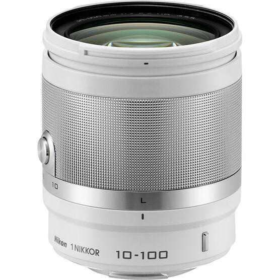 Nikon 1 10-100mm VR Lens - White - 3327 - Open Box Display Model