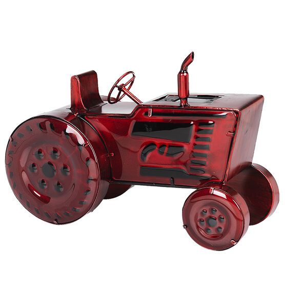 London Drugs Solar Glass Tractor - Red