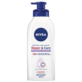 Nivea Repair & Care Body Lotion - Sensitive Skin - 625ml