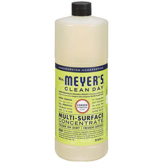 Mrs. Meyer Multi-Surface Concentrate Cleaner - Lemon Verbena - 946ml