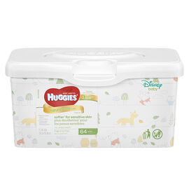 Huggies Natural Care Wipes - 64's