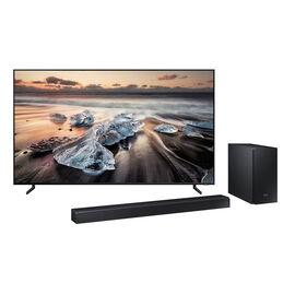 PRE ORDER: Samsung 65-in QLED 8K Smart TV - QN65Q900RBF + Samsung Harman Kardon 372W 5.1.2 Channel Sound Bar - HWN850/ZC - PKG #12796