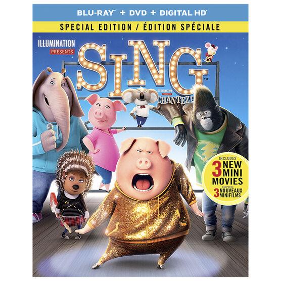 Sing - Blu-ray
