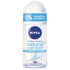 Nivea Natural Comfort Aluminum Free Roll On Deodorant - 50mL