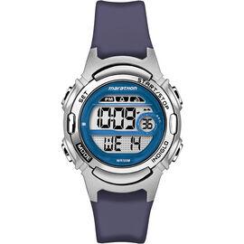 Timex Marathon Mid Size Watch - Blue/Silver - TW5M112009J