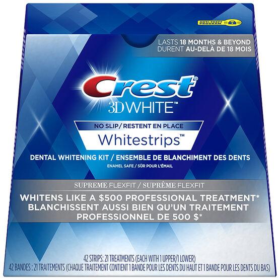 Crest 3D White Whitestrips - Supreme Flexfit - 21 Treatments