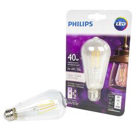 Philips LED ST19 Lightbulb - Soft White - 4.5w/40w