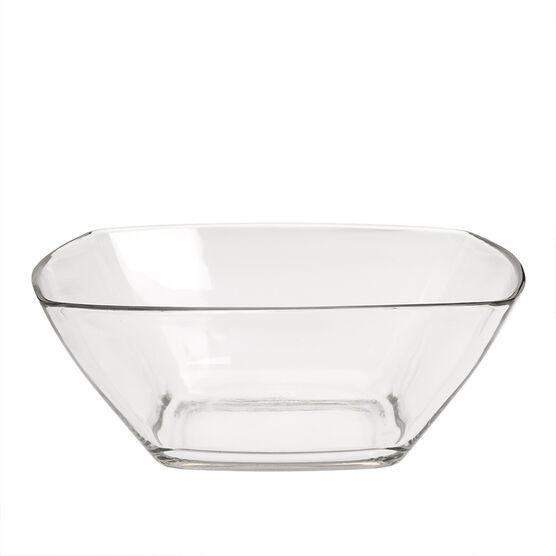 Bormioli Square Glass Bowl - 22.8cm
