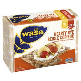 Wasa Hearty Rye Crispbread - 275g