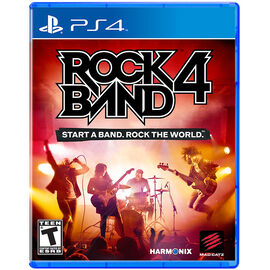 PS4 Rock Band 4 - Game Only