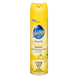 Pledge Furniture Spray - Lemon Fresh - 275g