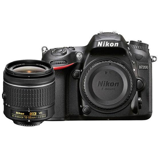 Nikon D7200 with 18-55mm G VR Lens - PKG #33991