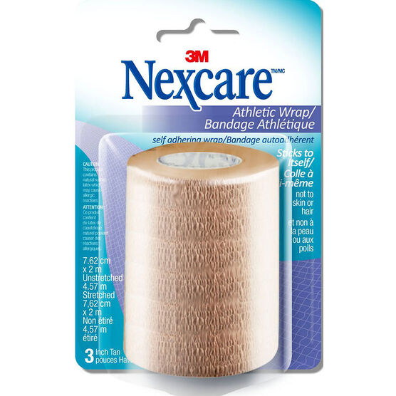 3M NexCare Tan Athletic Wrap CR-3T-CA