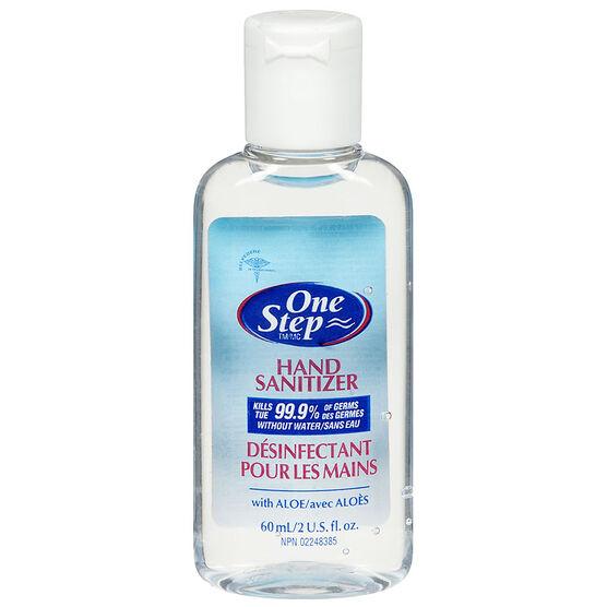 One Step Original Travel Size Hand Sanitizer- 60ml