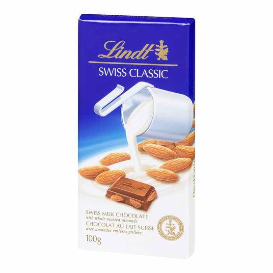 Lindt Classic Milk Almond - 100g